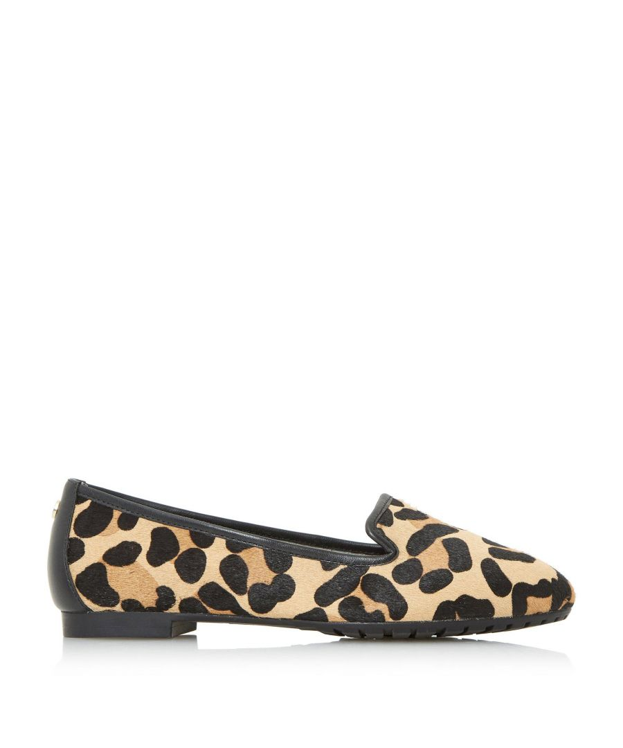 Image for Dune Ladies W GENEVEVE Wide Fit Toecap Detail Slipper Cut Shoes