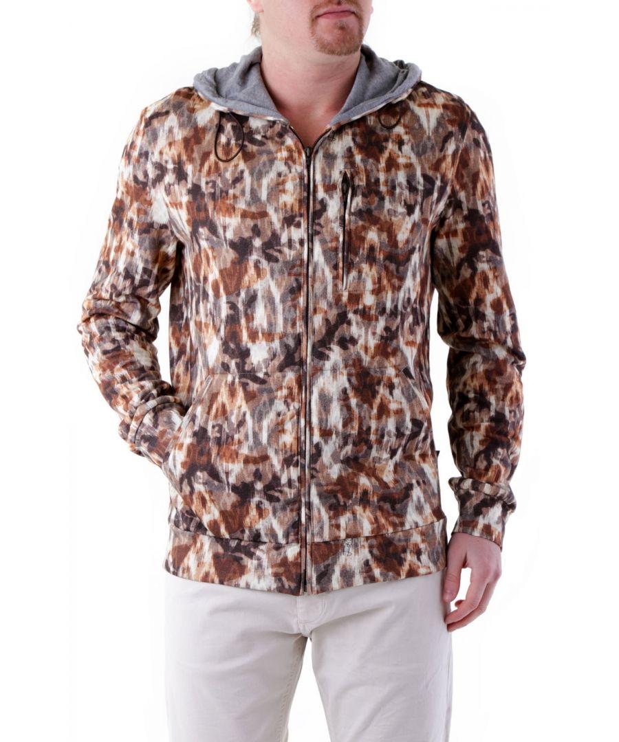 Image for Just Cavalli Men's Sweatshirt In Brown