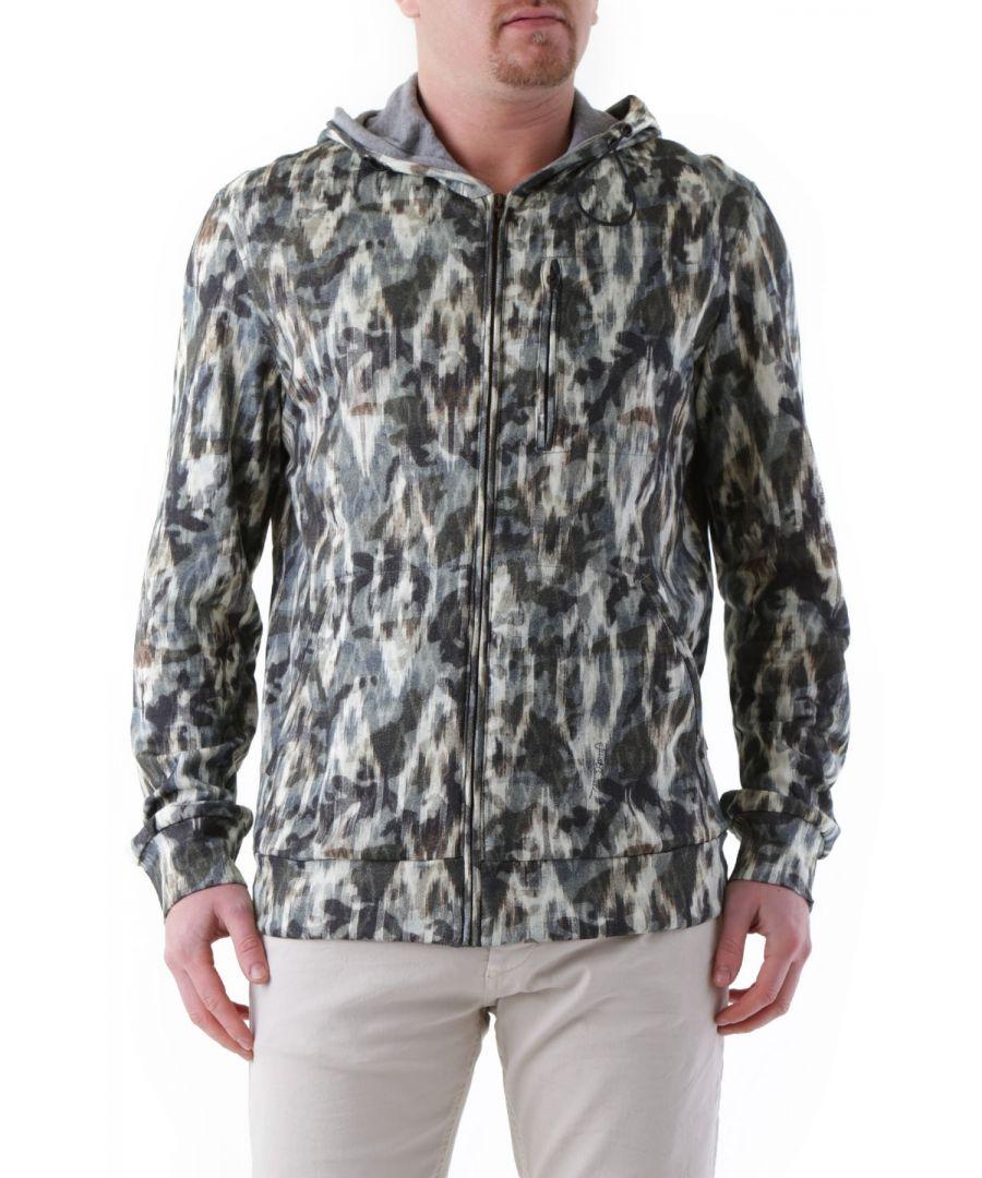 Image for Just Cavalli Men's Sweatshirt In Green