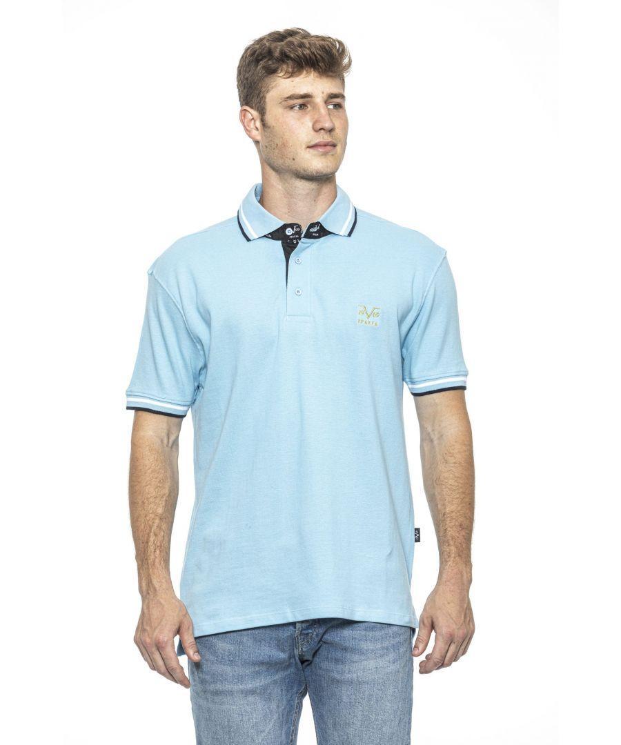 Image for 19V69 Italia Men's Polo In Blue