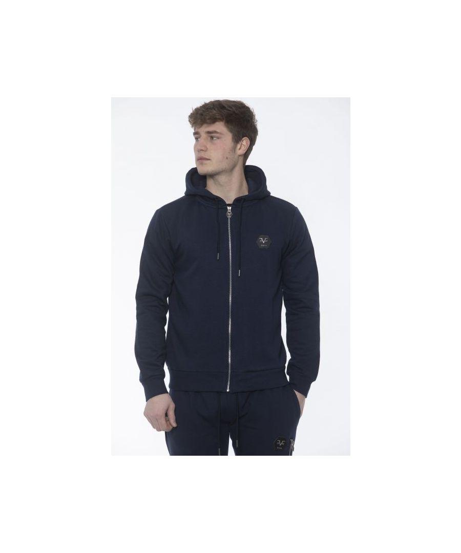 Image for 19V69 Italia Men's Sweatshirt In Blue