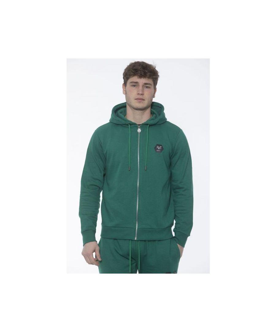 Image for 19V69 Italia Men's Sweatshirt In Green