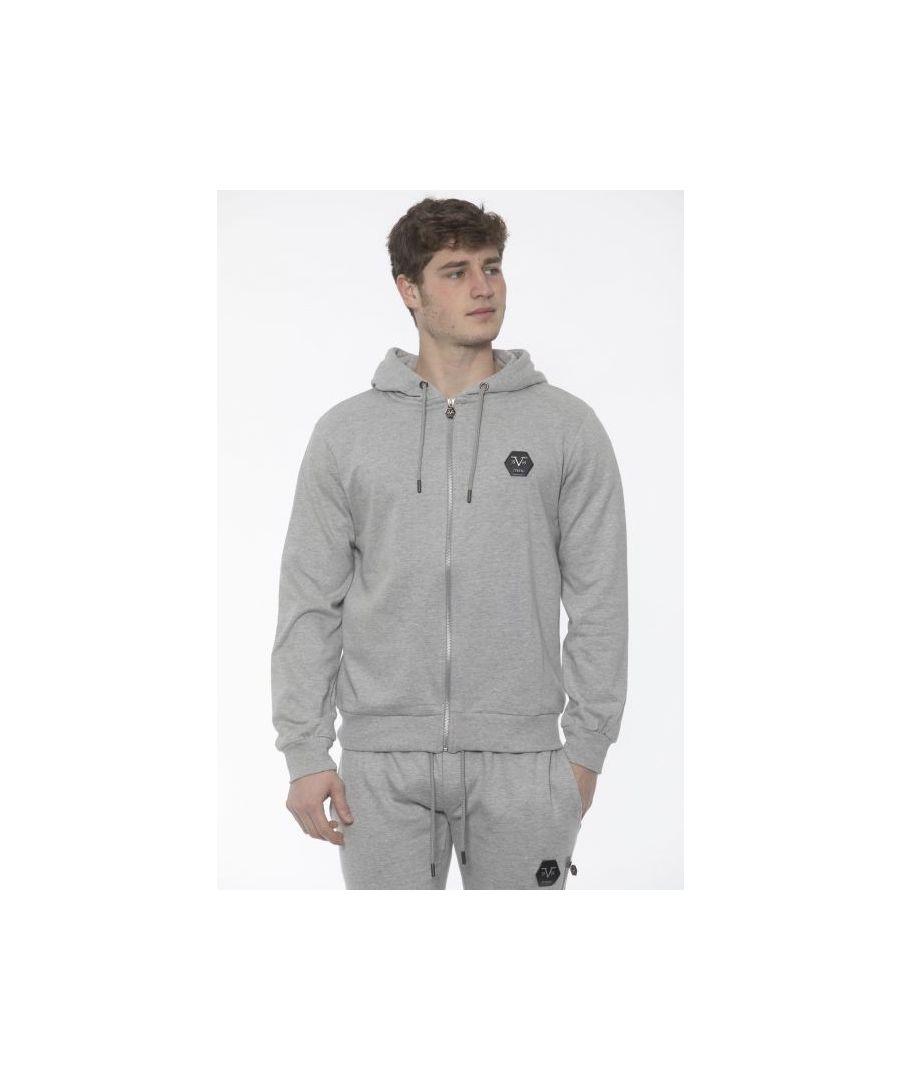 Image for 19V69 Italia Men's Sweatshirt In Grey