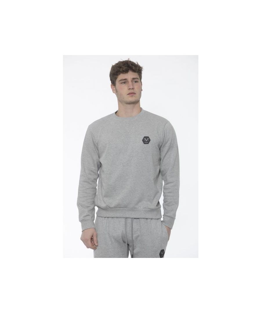 Image for 19V69 Italia Men's Sweatshirt In Grey