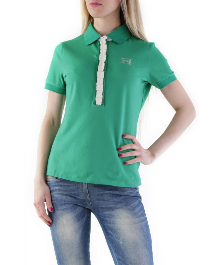 Image for Husky Women's Polo In Green