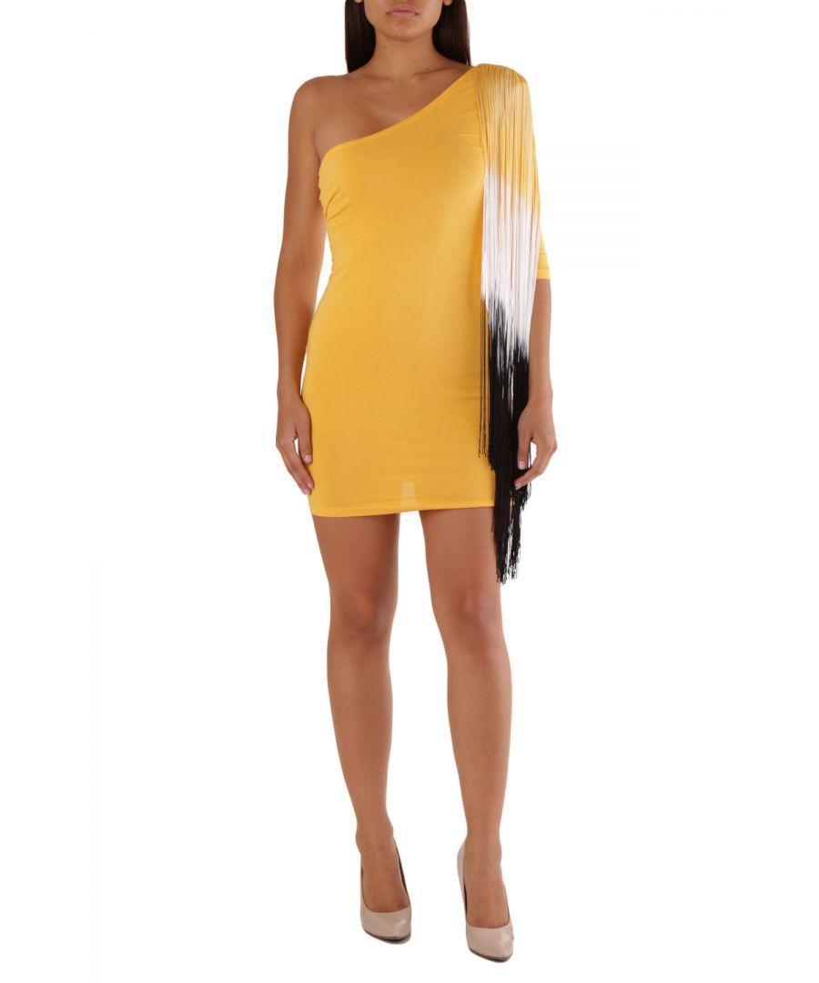 Image for Met Women's Dress In Yellow