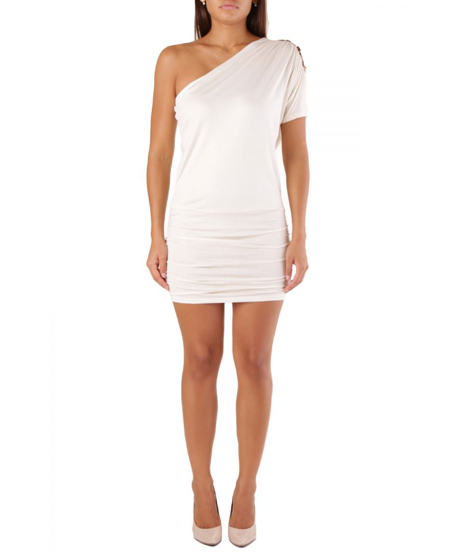 Image for Met Women's Dress In White