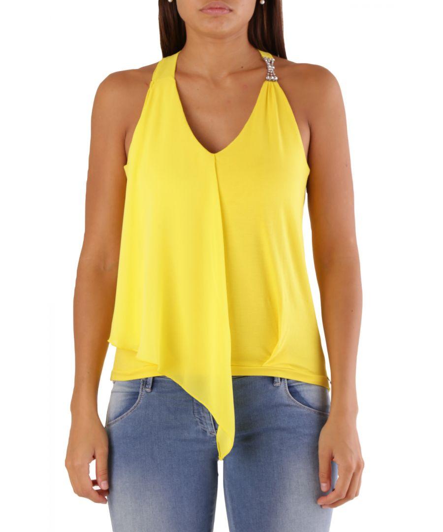 Image for Met Women's Blouse In Yellow