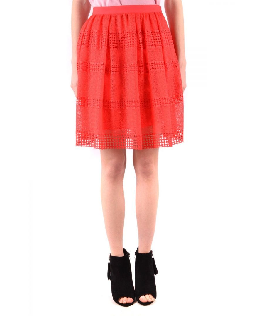 Image for Michael Kors Women's Skirt In Coral