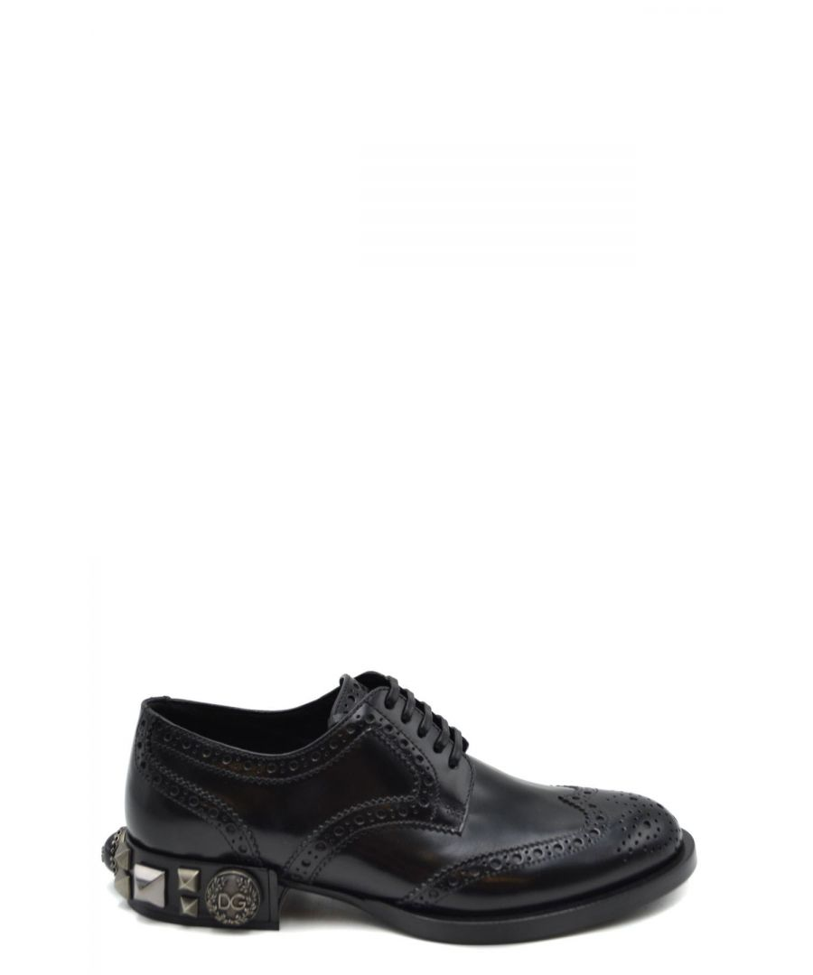 Image for Dolce & Gabbana Women's Lace Ups Shoes In Black