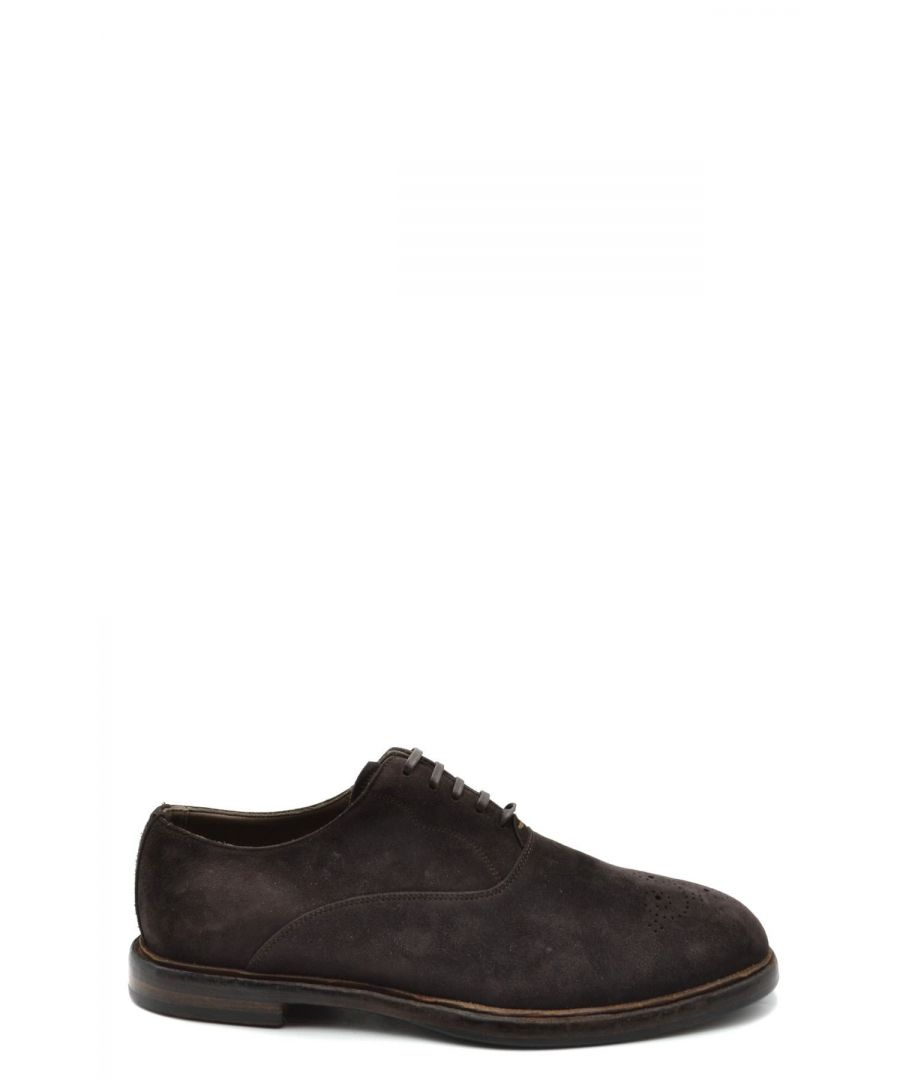 Image for Dolce & Gabbana Men's Slip On Shoes In Brown