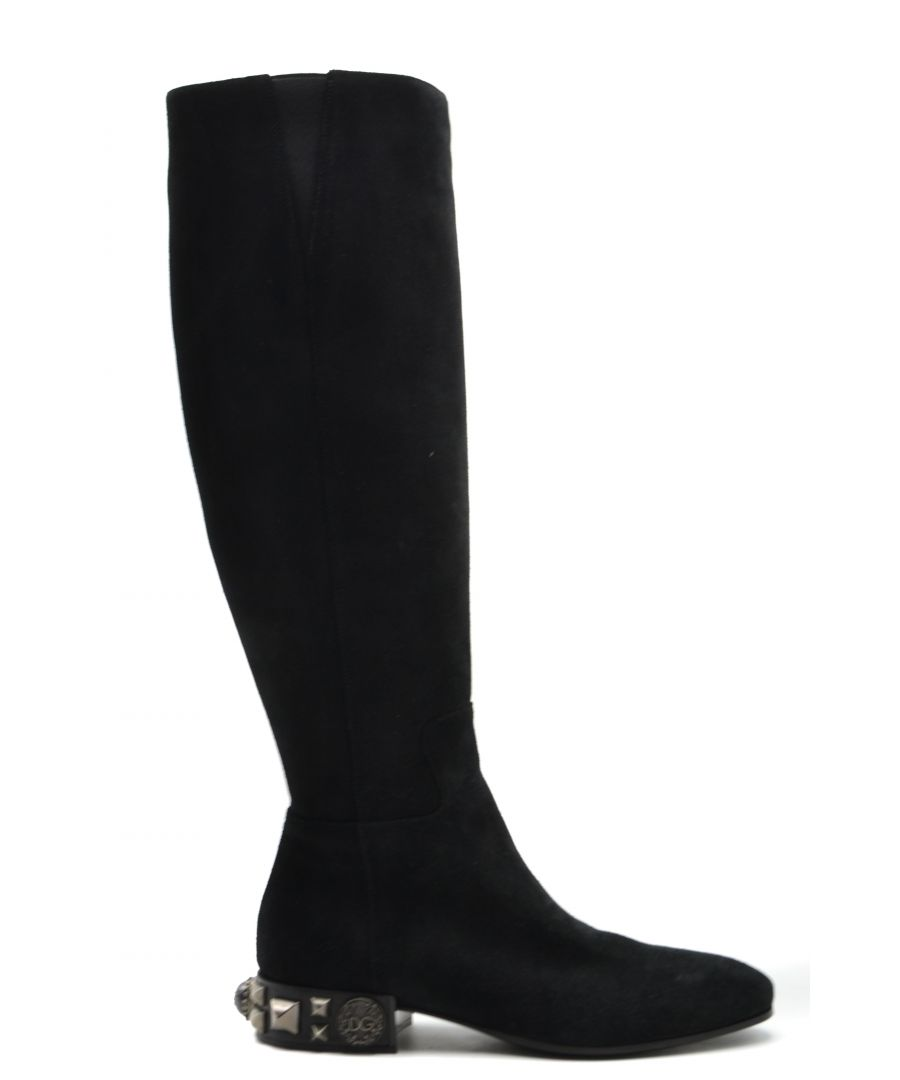 Image for Dolce & Gabbana Women's Boots In Black
