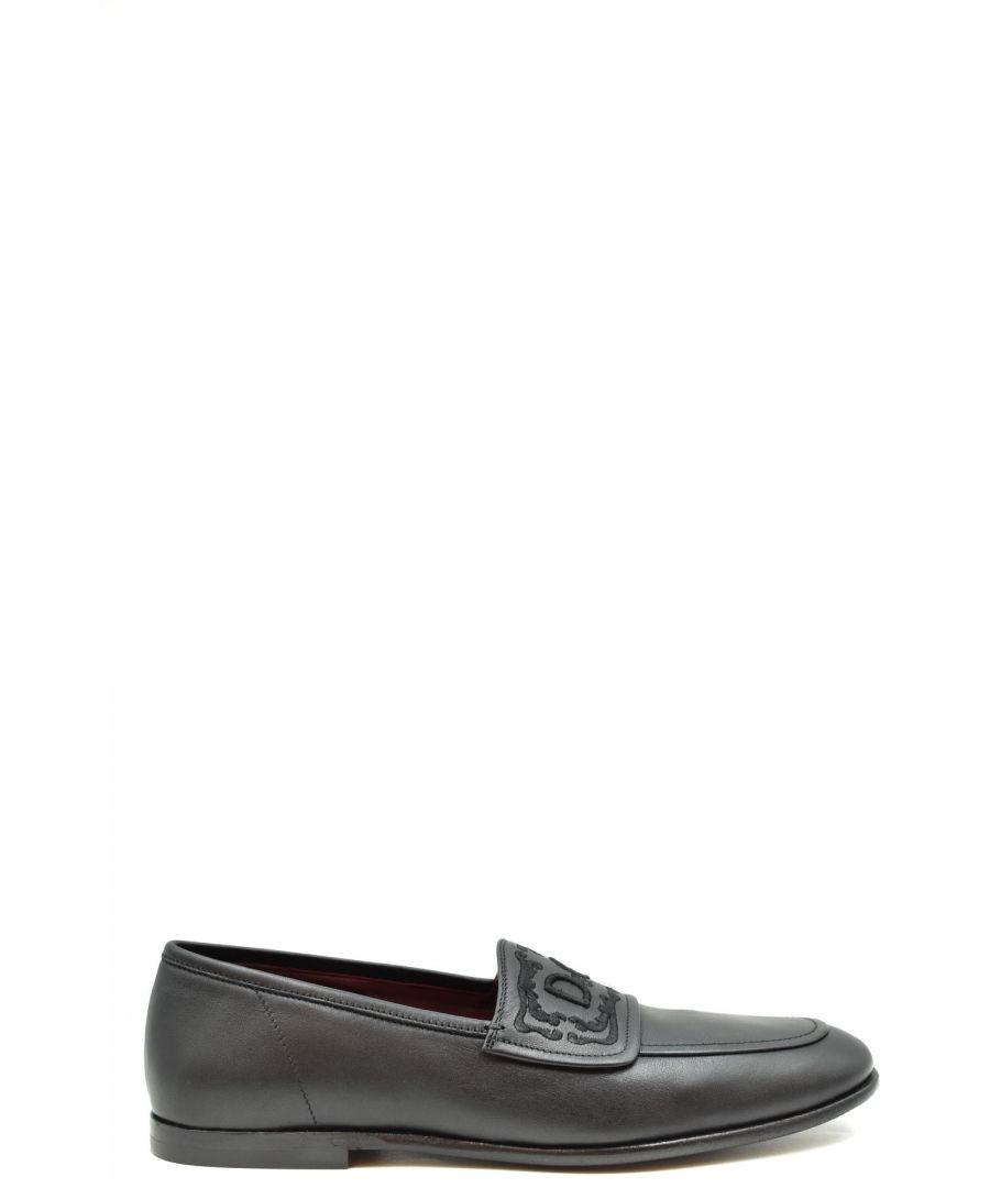 Image for Dolce & Gabbana Men's Moccassin In Black