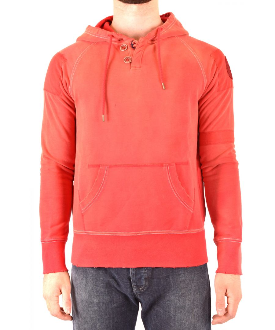 Image for Armani Jeans Men's Sweatshirt In Red