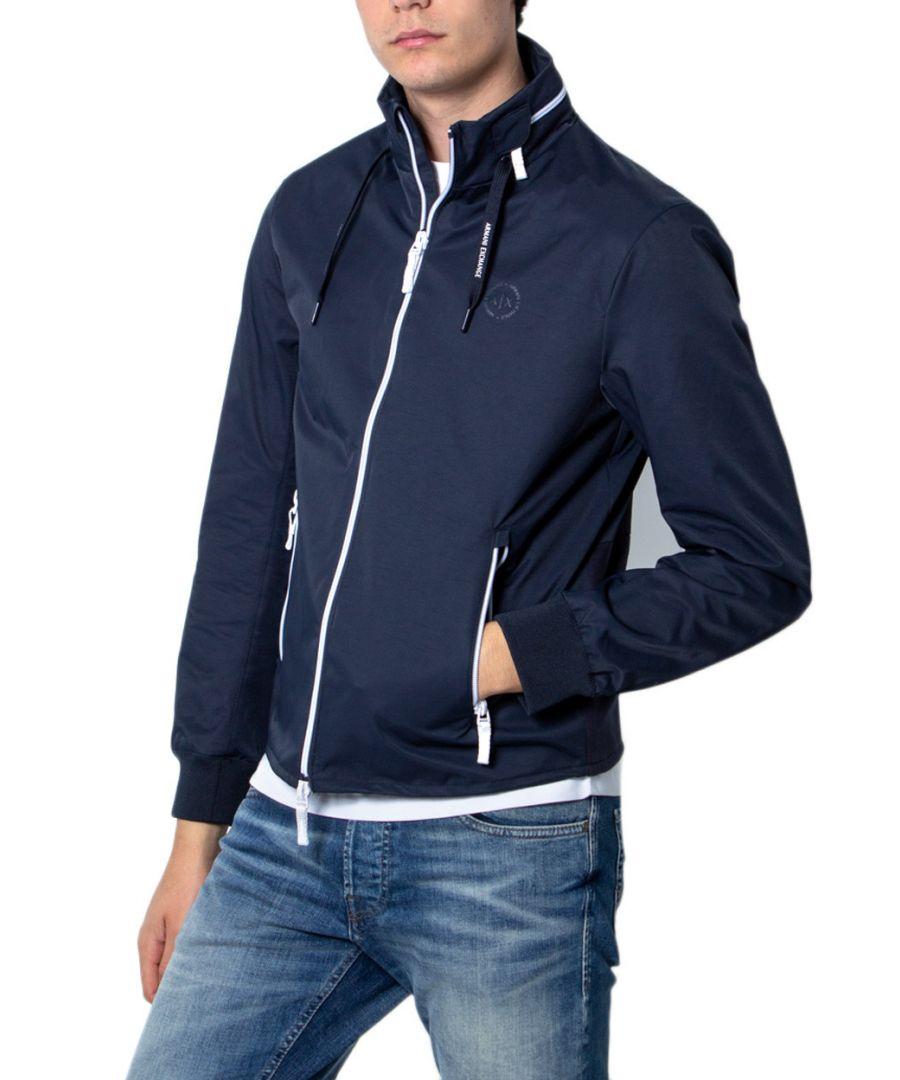 Image for Armani Exchange Men's Blazer In Blue
