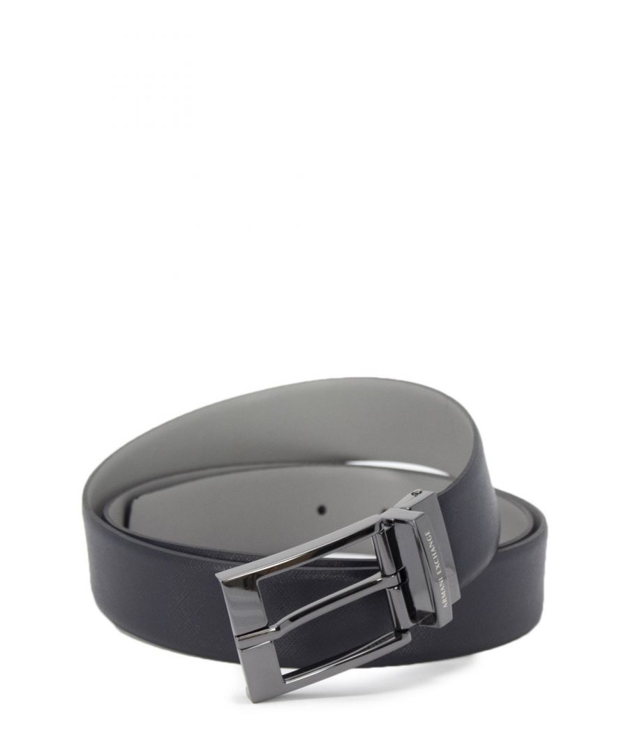 Image for Armani Exchange Men's Belt In Blue