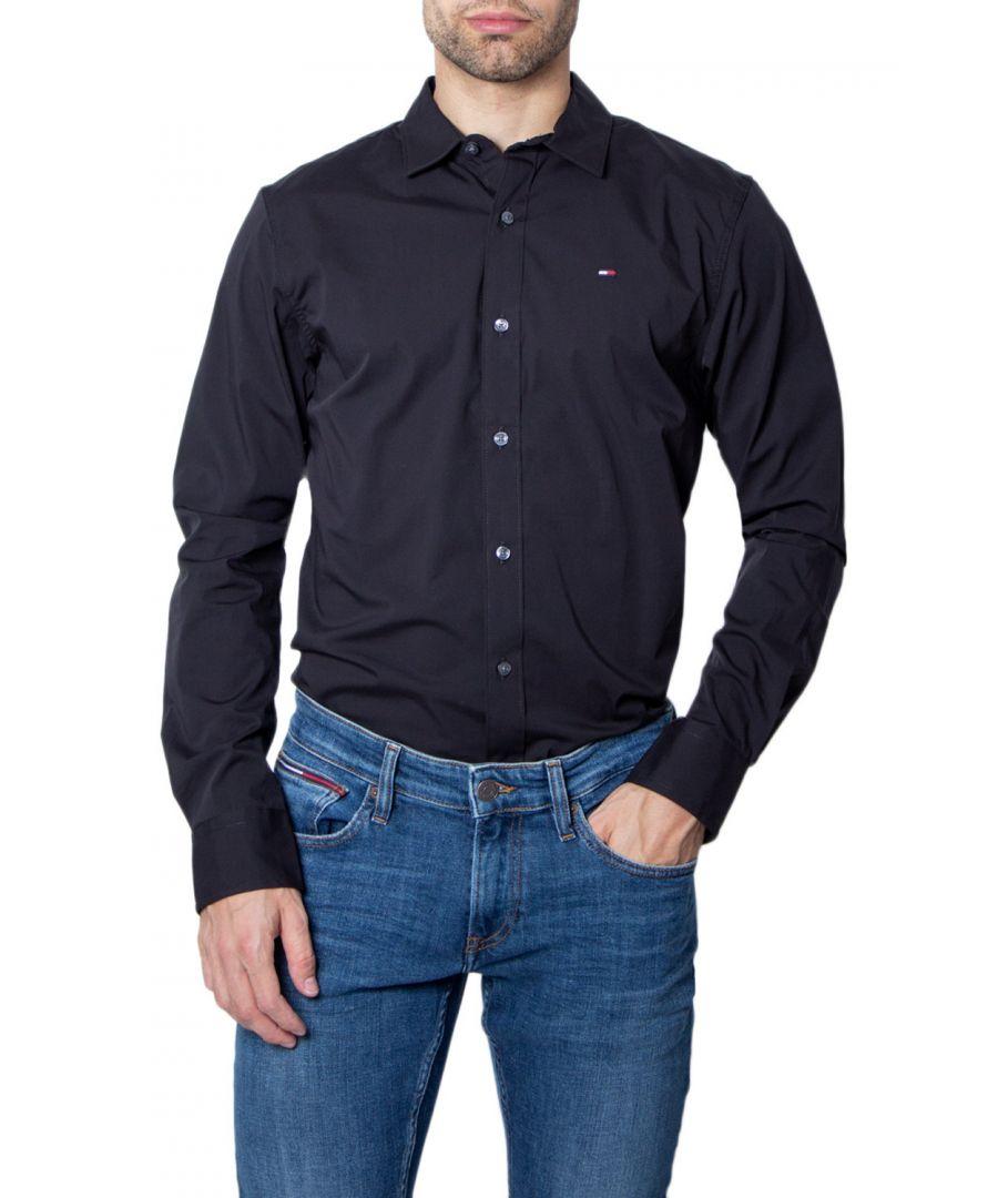 Image for Tommy Hilfiger Men's Shirt in Black