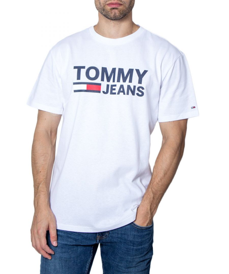Image for Tommy Hilfiger Men's T-Shirt In White