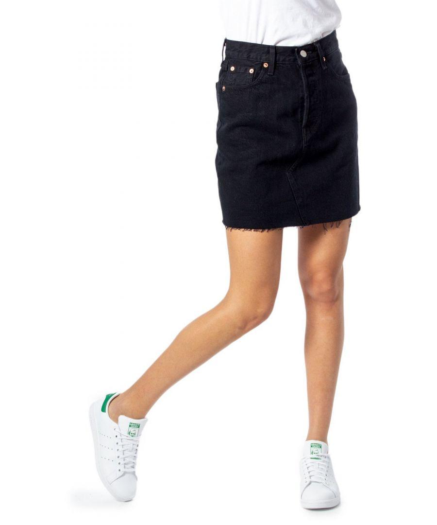 Image for Levi`S Women's Skirt In Black