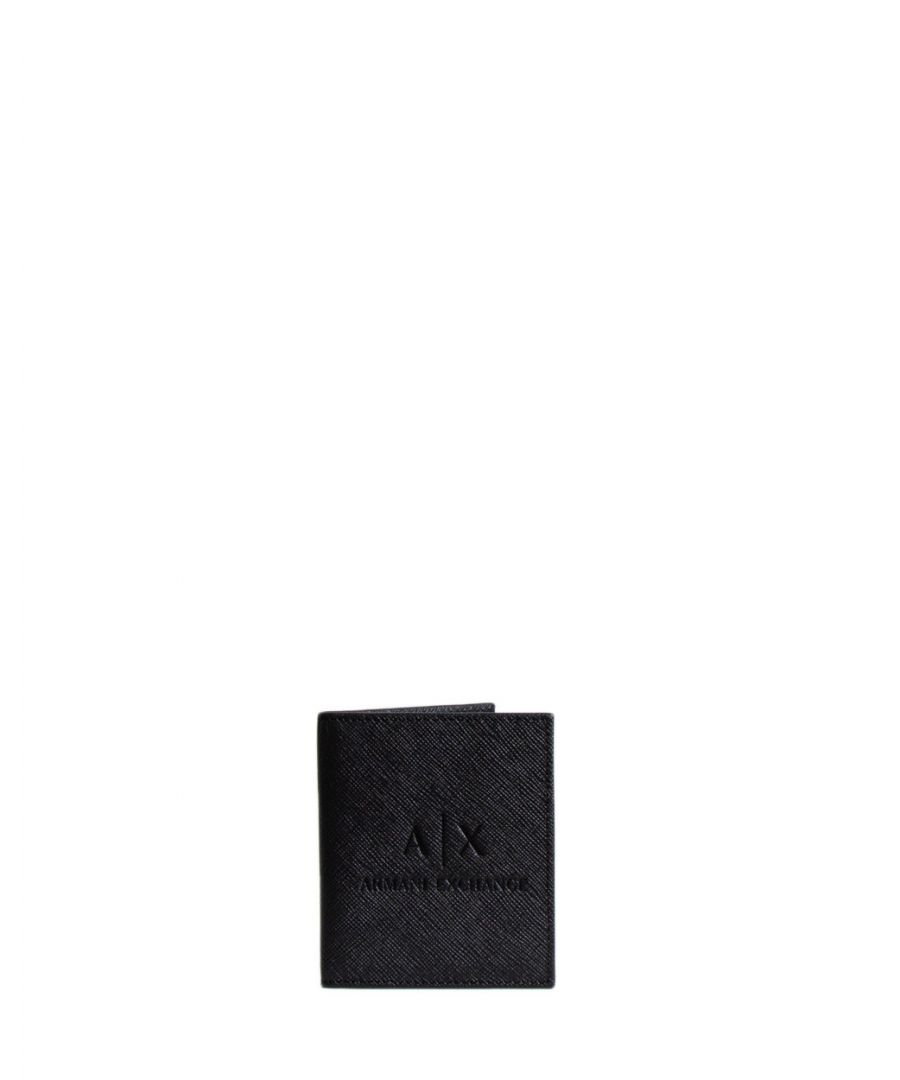 Image for Armani Exchange Men's Wallet In Black