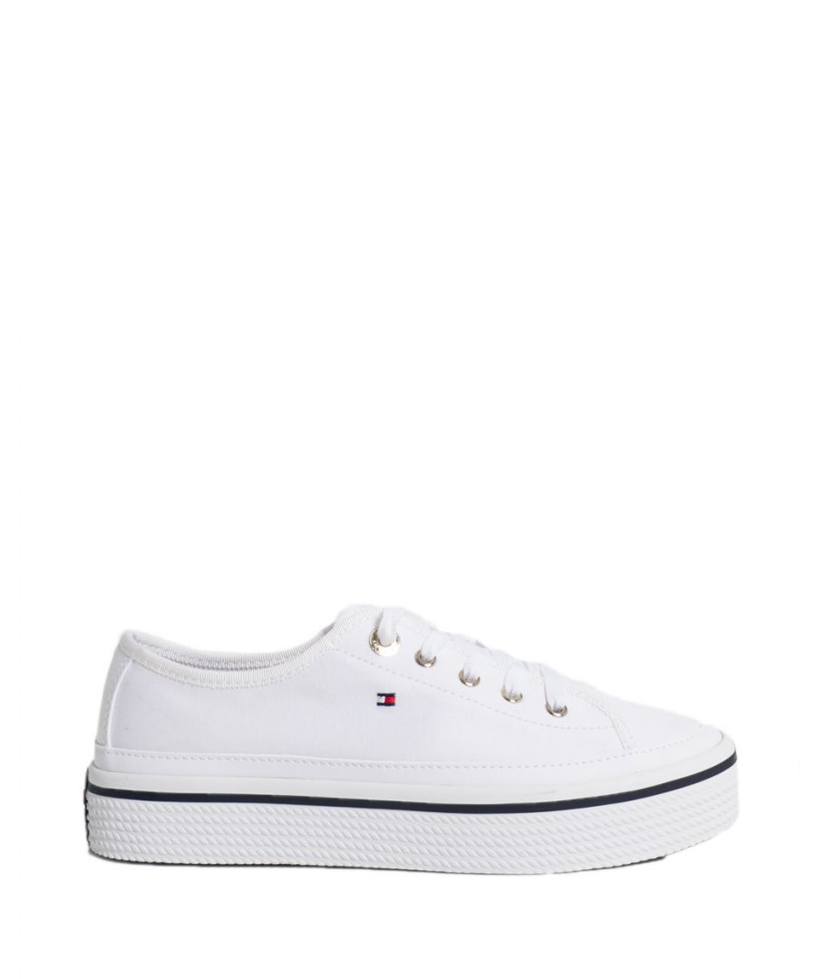 Image for Tommy Hilfiger Women's Sneakers In White