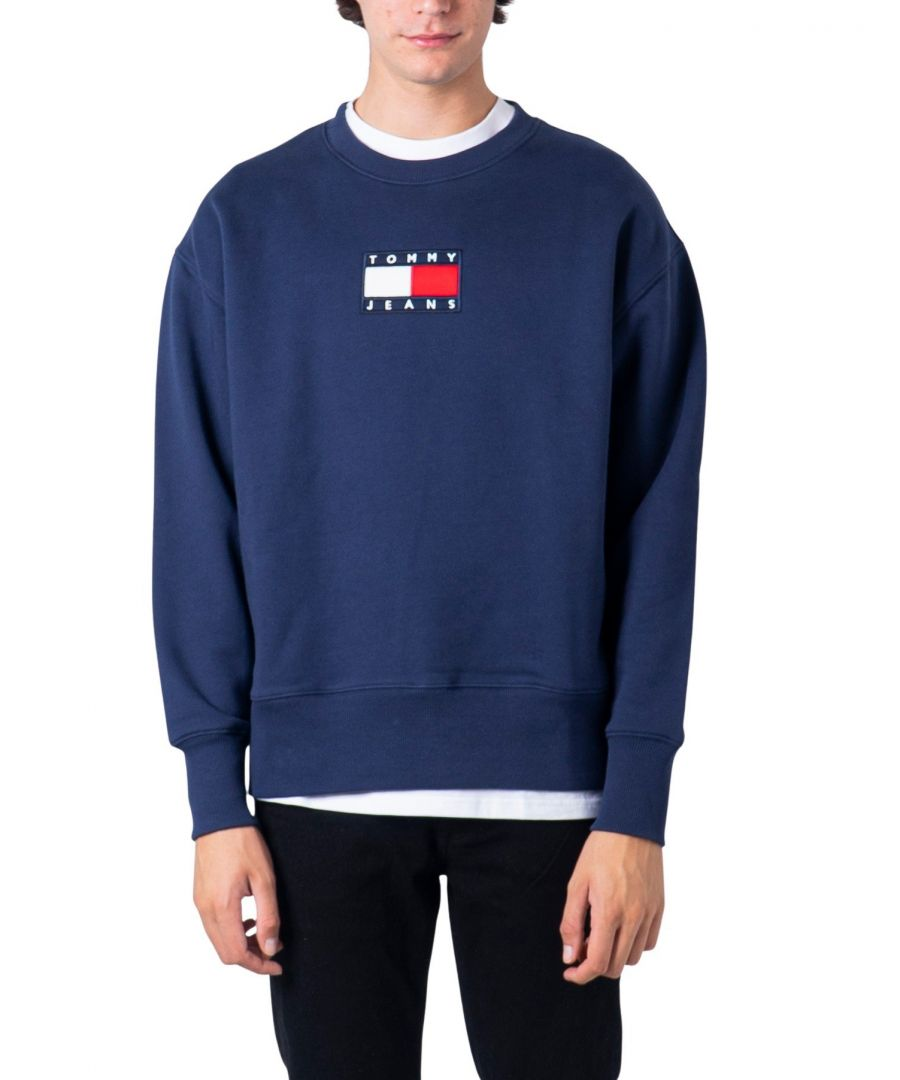 Image for Tommy Hilfiger Men's Sweatshirt In Blue