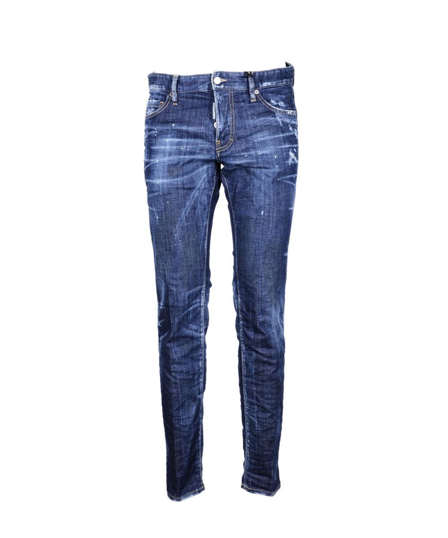 Image for Dsquared Men's Jeans In Blue