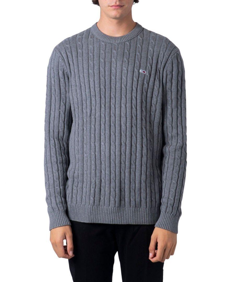 Image for Tommy Hilfiger Men's Knitwear In Grey
