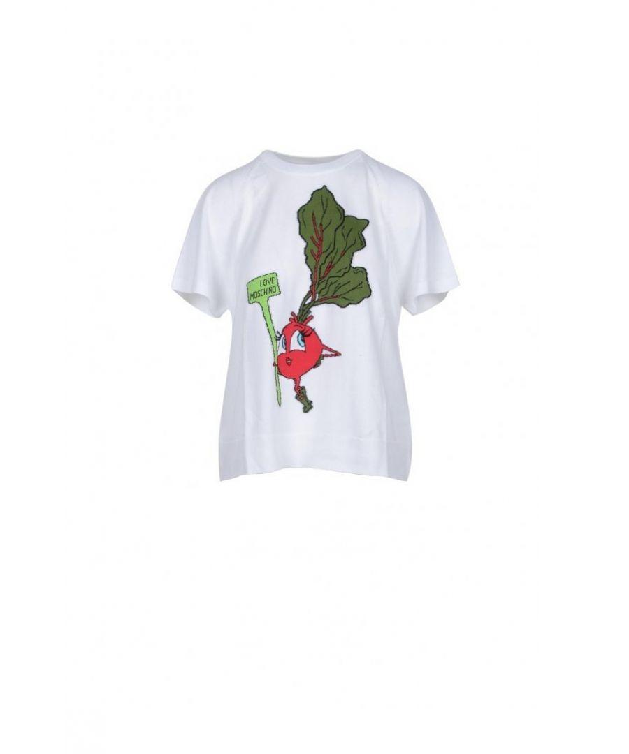 Image for Love Moschino Women's T-Shirt In White