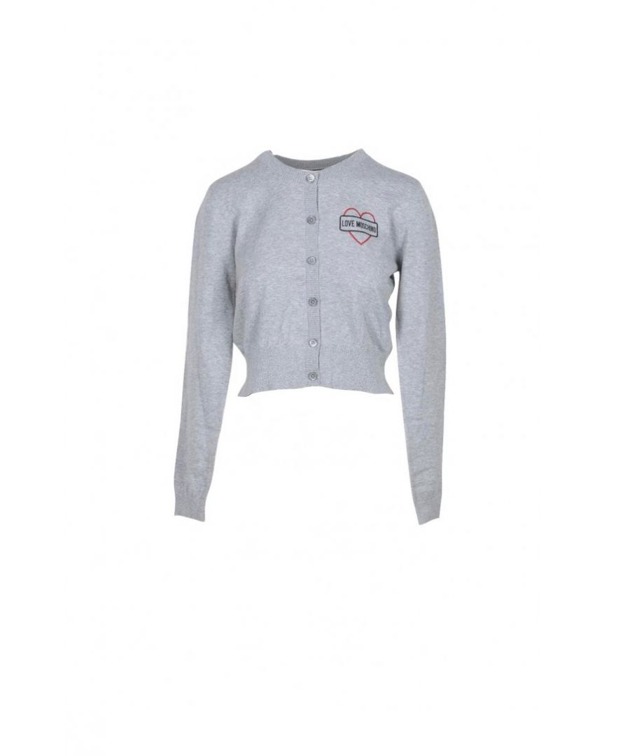 Image for Love Moschino Women's Knitwear In Grey