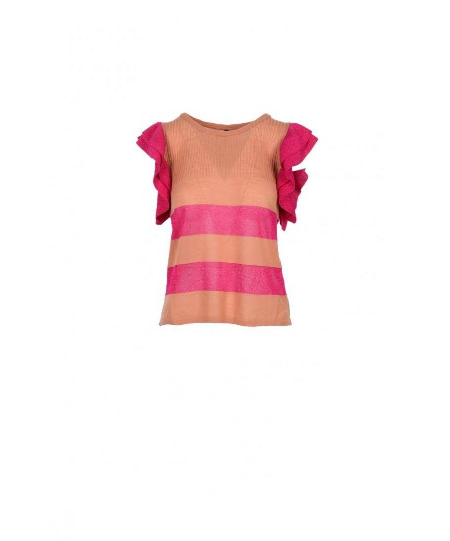 Image for Manila Grace Women's Knitwear In Pink