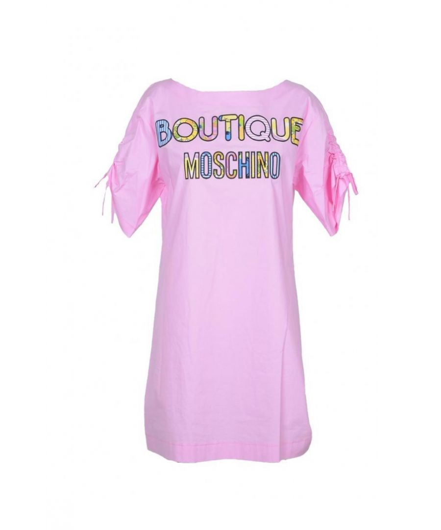 Image for Boutique Moschino Women's Dress In Pink