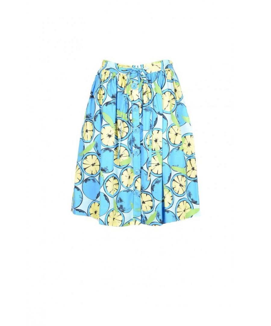Image for Boutique Moschino Women's Skirt In Blue