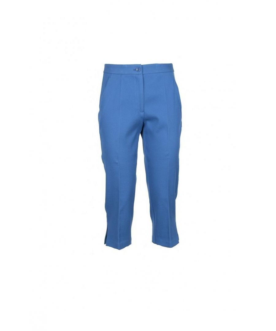 Image for Boutique Moschino Women's Trousers In Blue