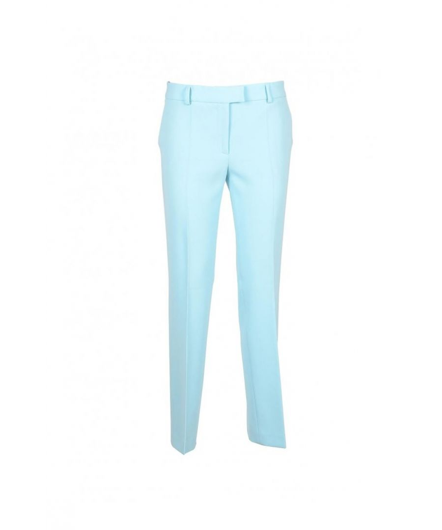 Image for Boutique Moschino Women's Trousers In Light Blue