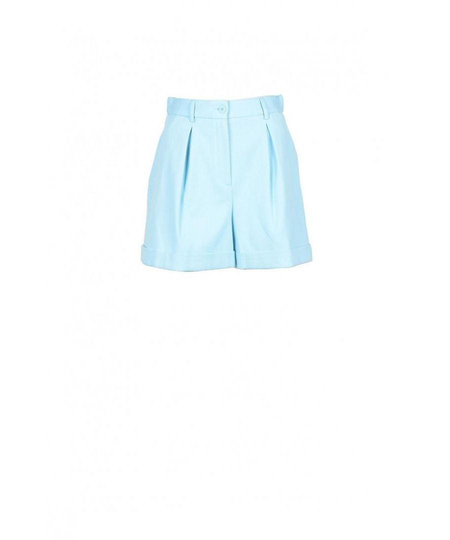 Image for Boutique Moschino Women's Shorts In Light Blue