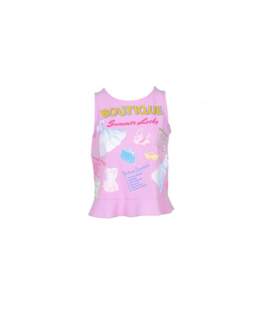 Image for Boutique Moschino Women's Top In Pink