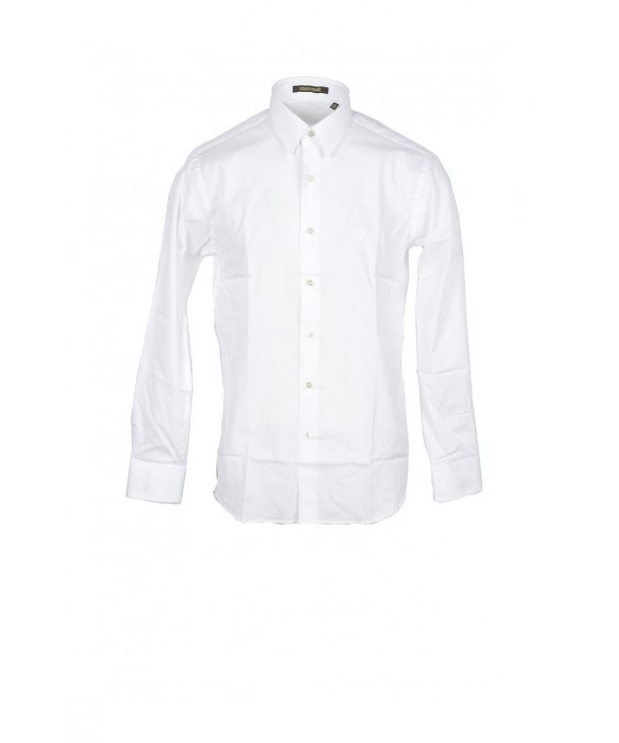 Image for Roberto Cavalli Men's Shirt In White