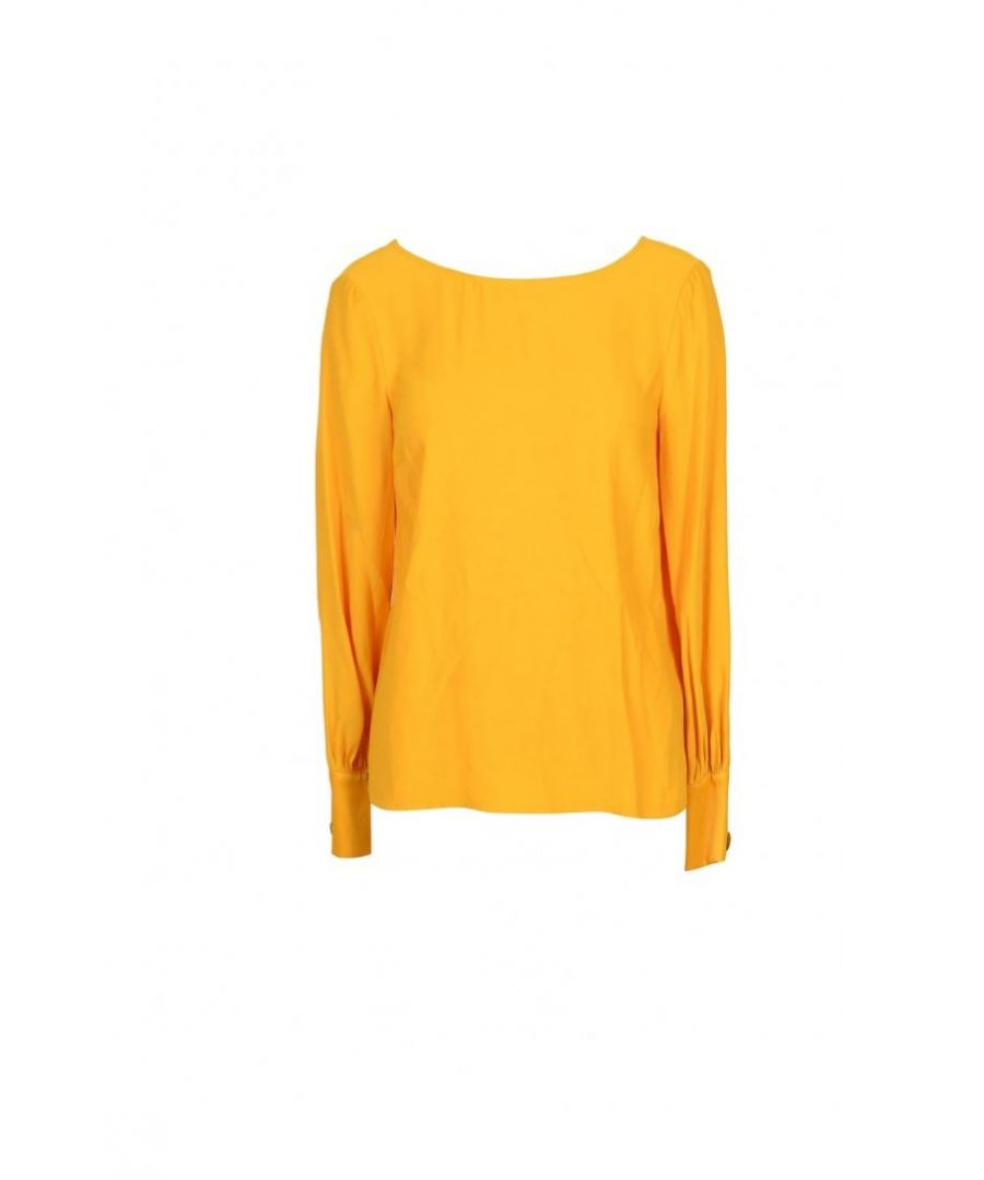 Image for Manila Grace Women's Blouse In Yellow