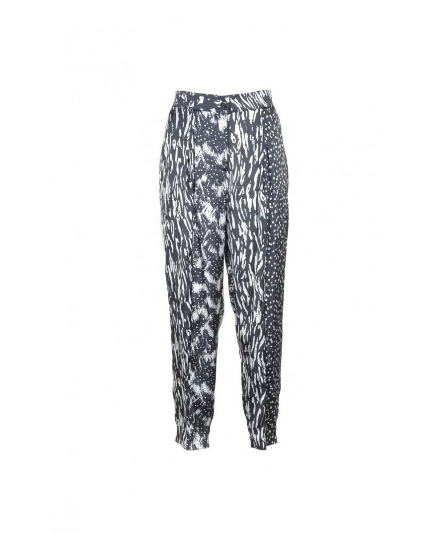 Image for Manila Grace Women's Trousers In Multicolor