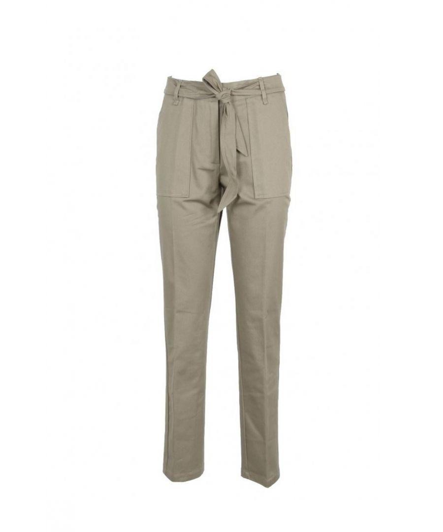 Image for Manila Grace Women's Trousers In Green