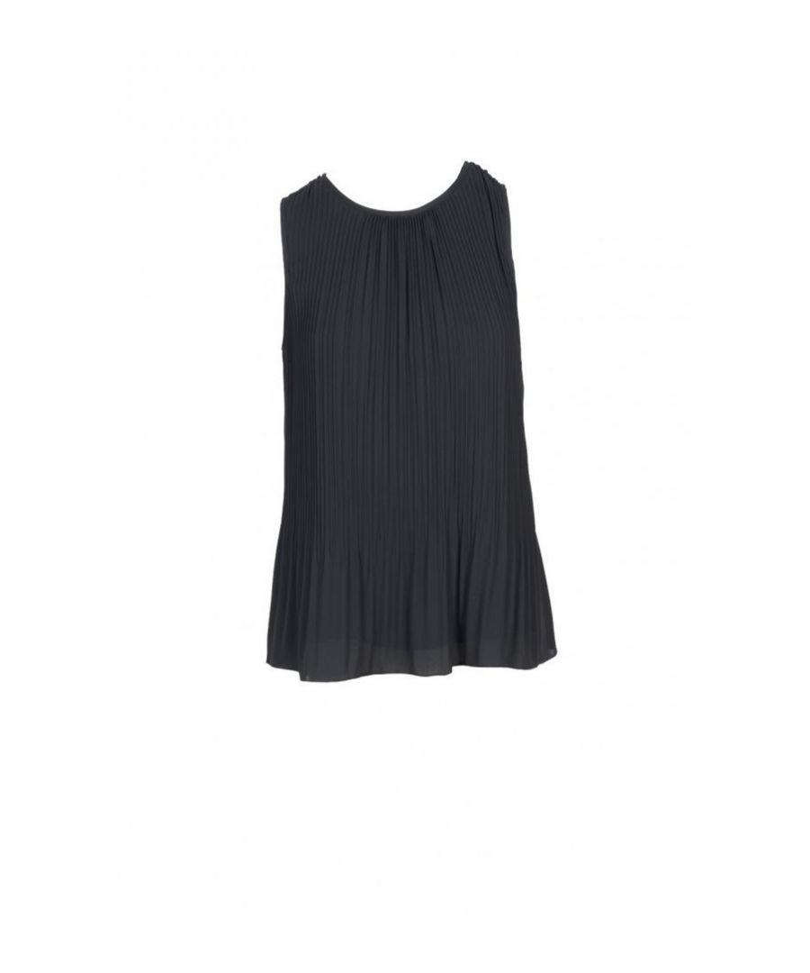Image for Manila Grace Women's Top In Black