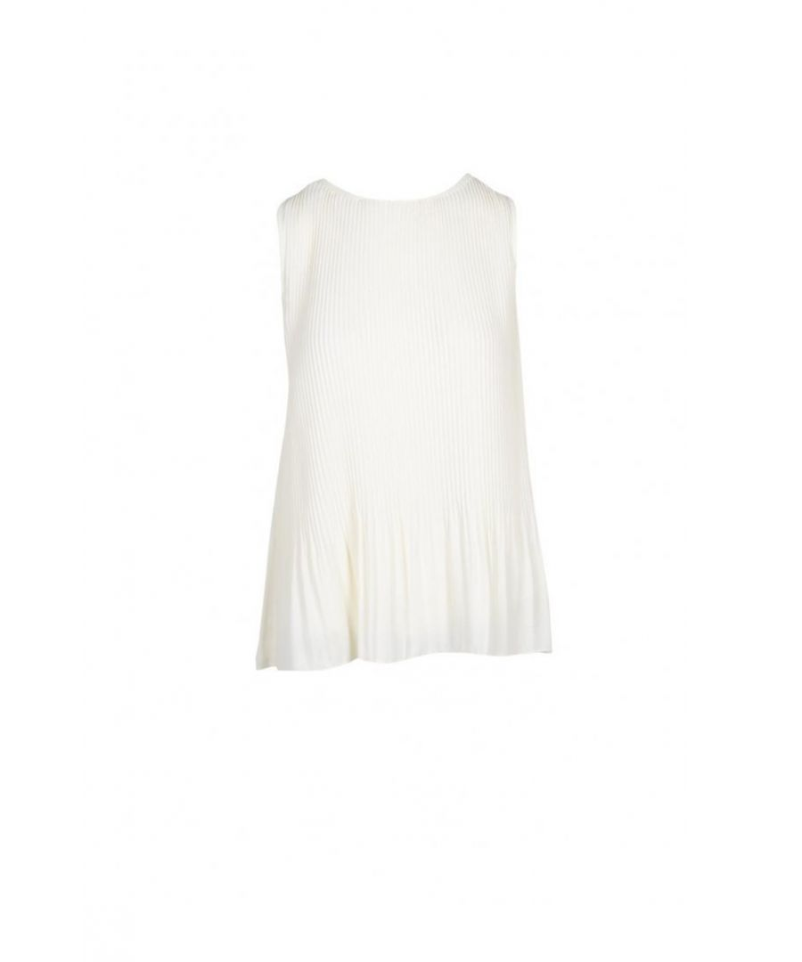 Image for Manila Grace Women's Top In White