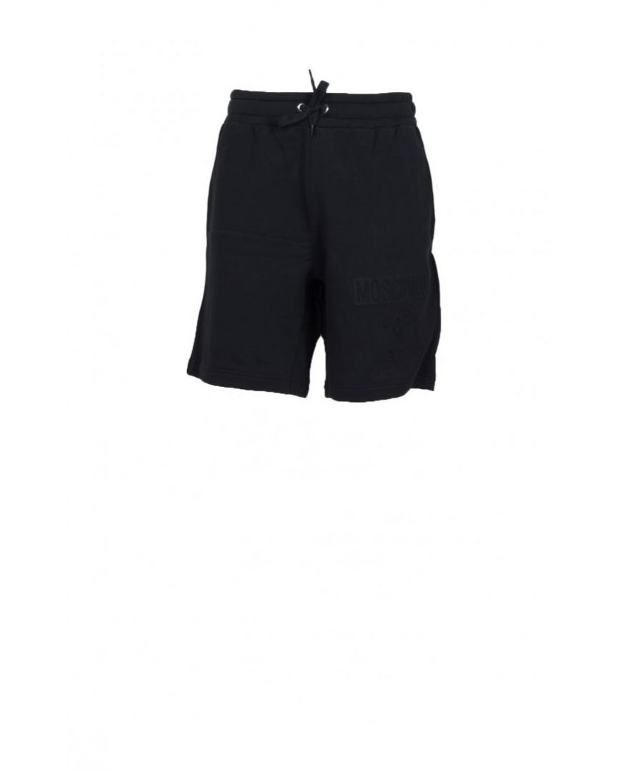 Image for Moschino Couture Men's Shorts In Black