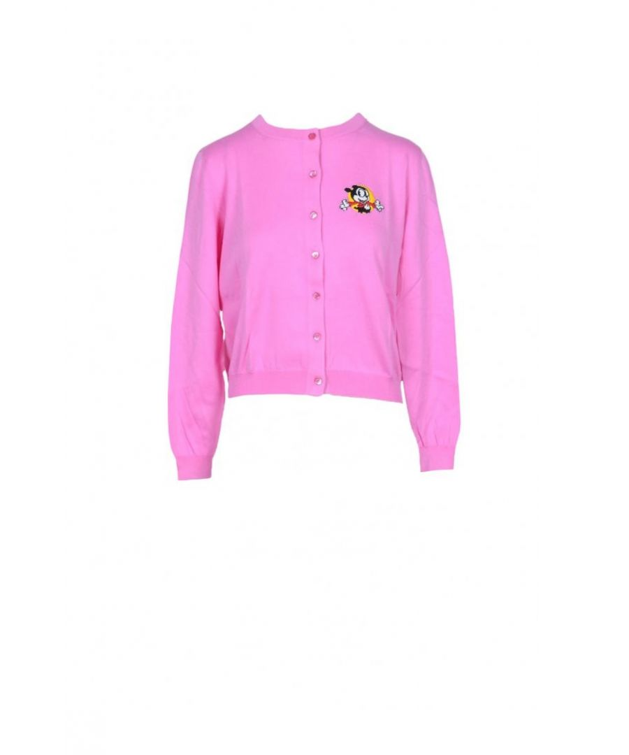 Image for Moschino Couture Women's Cardigan In Pink