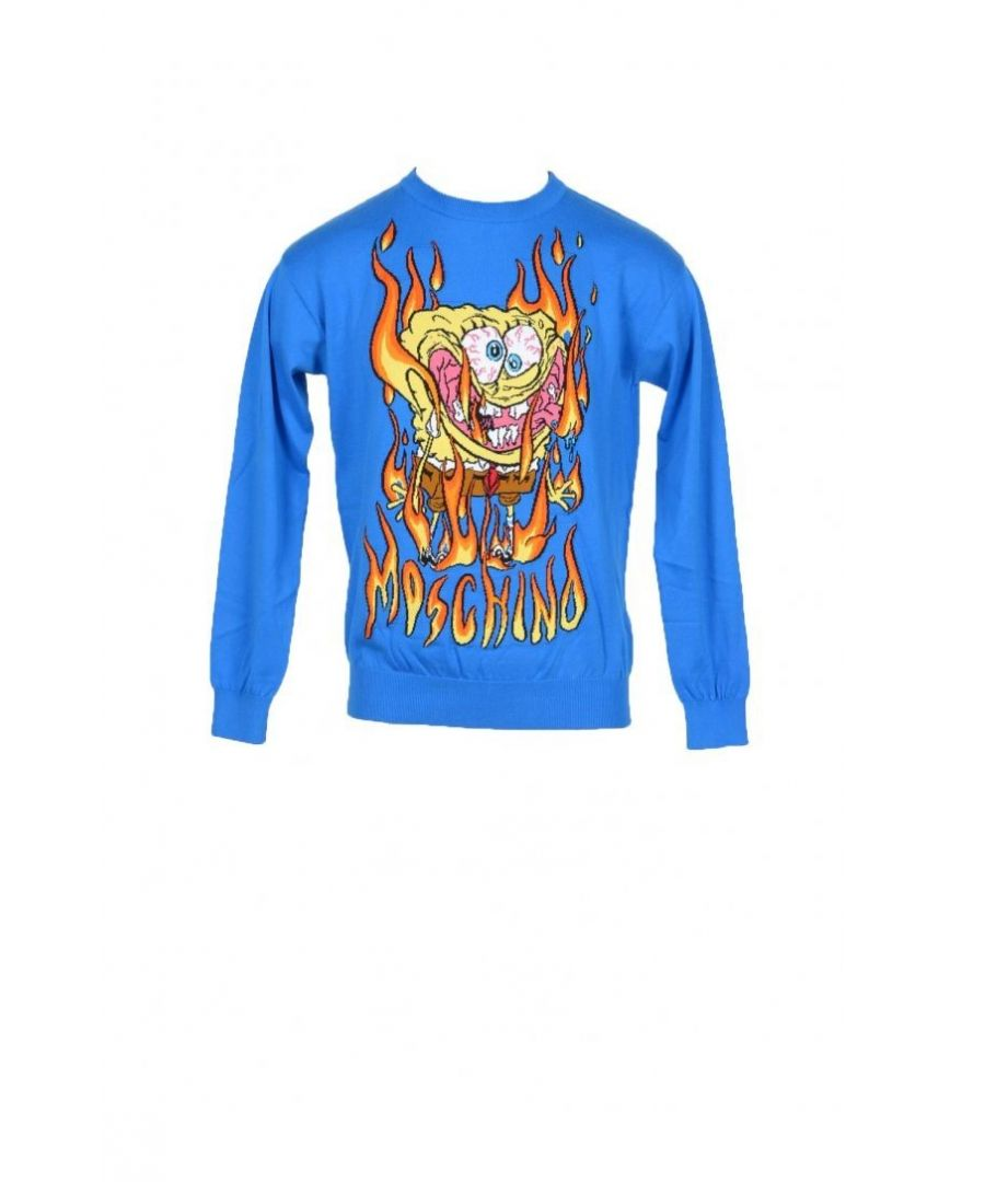 Image for Moschino Couture Men's Knitwear In Blue