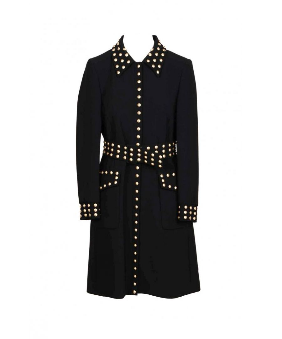 Image for Moschino Couture Women's Coat In Black