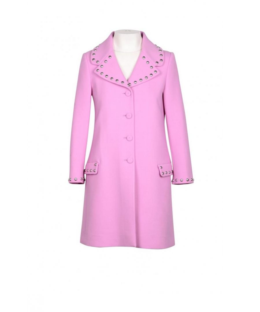 Image for Moschino Couture Women's Coat In Pink