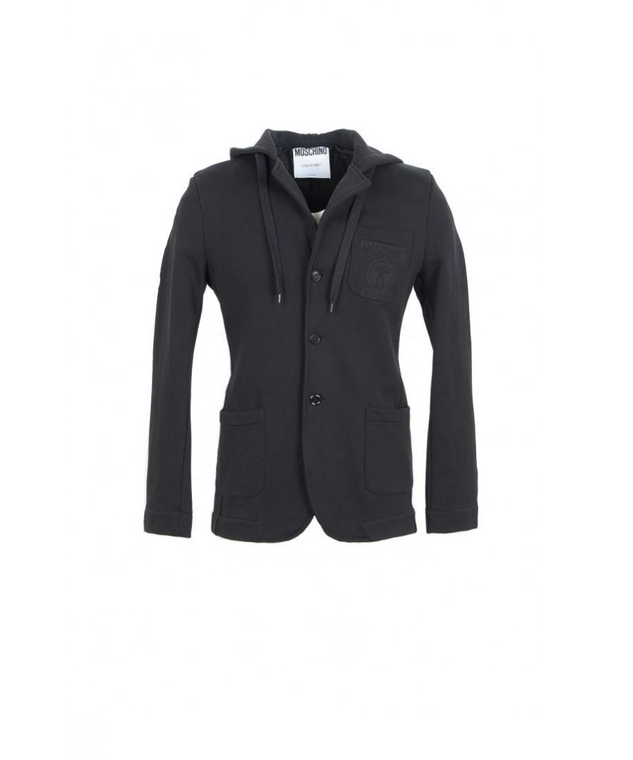 Image for Moschino Couture Men's Blazer In Black