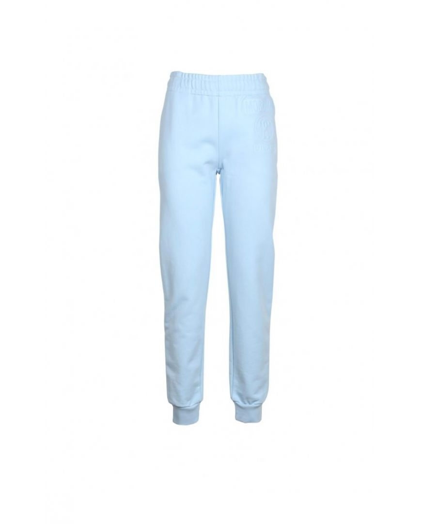 Image for Moschino Couture Women's Trousers In Light Blue